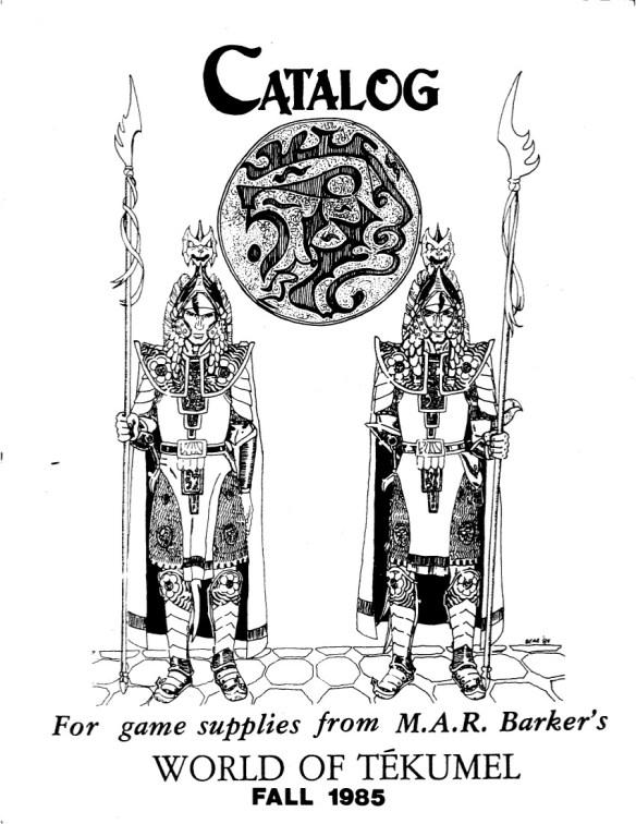 TekumelGamesCatalogFall1985Cover