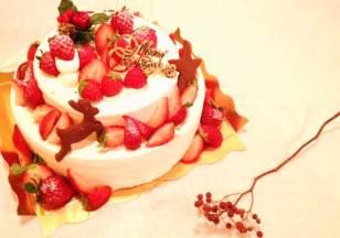 こちらはクリスマスケーキ