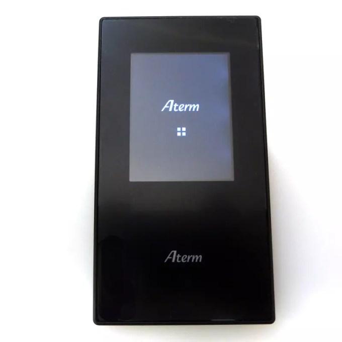 旧モデルと代わり映えしないモバイルルーターNEC Aterm MR05LN