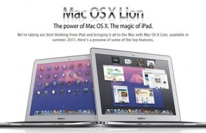 Mac OS 10.7 Developer Preview