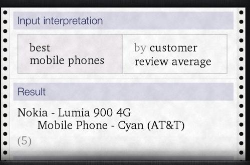 Siri Likes The Nokia Lumia 900?