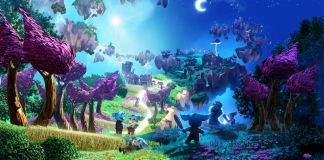 Imagen de un mundo de fantasía
