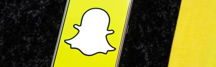 Celular con snapchat