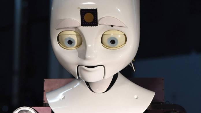 Cara de robot