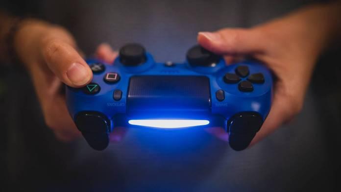 Mando de Play Station 4 Azul
