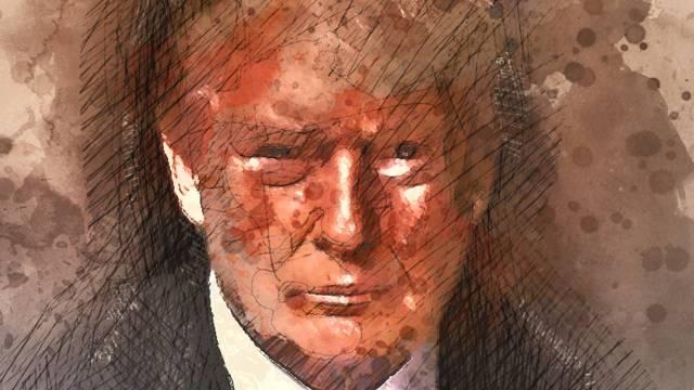 Rostro Donald Trump