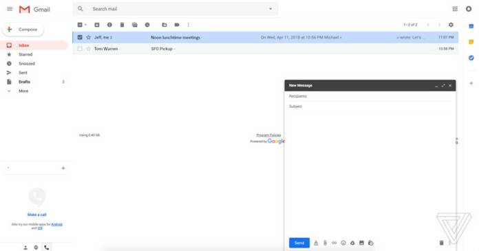 gmail-interfaz