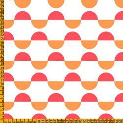 tejidos de colores naranjas
