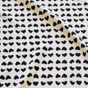 de corazones grandes pequeños en parejas porque yo amo coser