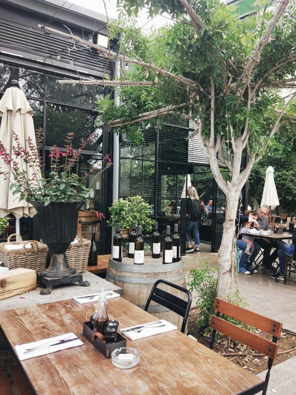 county side restaurants in israel
