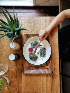 vegan food tel aviv