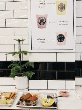 healthy food in tel aviv