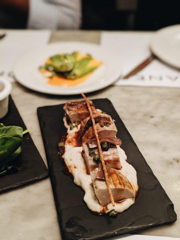 fine dining in Milan