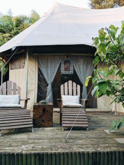 luxury tent italy