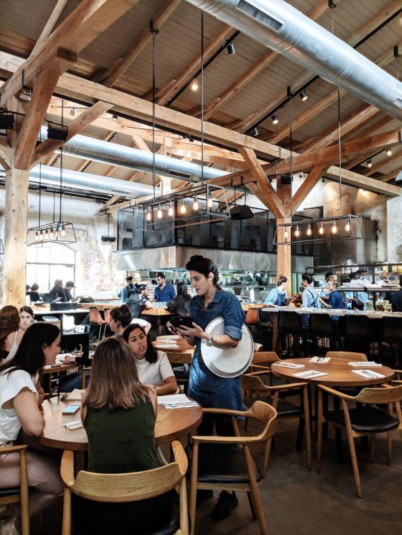 claro restaurant tel aviv design