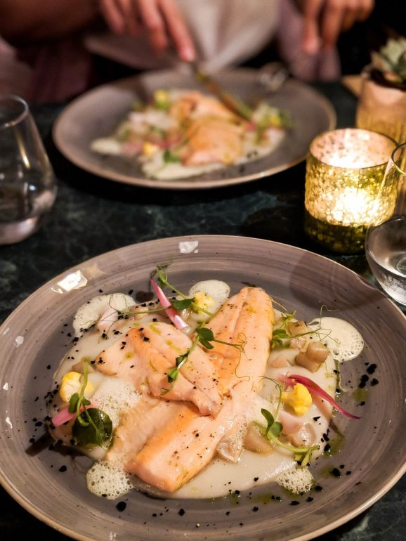 hilda restaurant budapest salmon