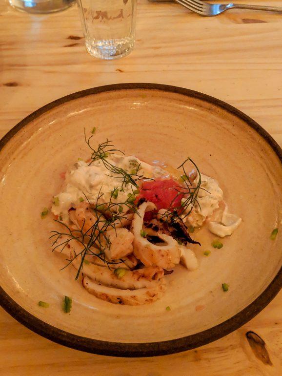 abie best restaurant in tel aviv calamari