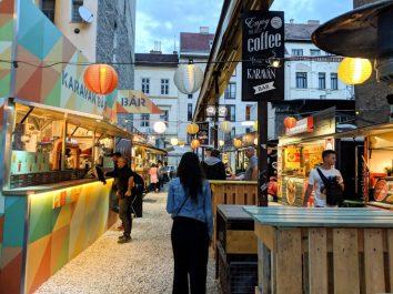 Street Food market Karavan Budapest