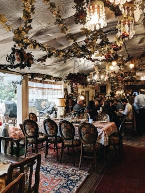 almog's gallery breakfast lunch buffet antique design