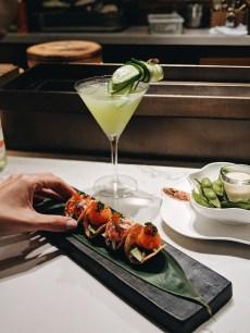 The Dinings Japanese restaurant Tel Aviv chips tar tar