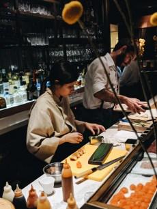 The Dinings Japanese restaurant Norman hotel Tel Aviv
