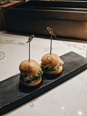 The Dinings Japanese restaurant Tel Aviv steamed burger buns