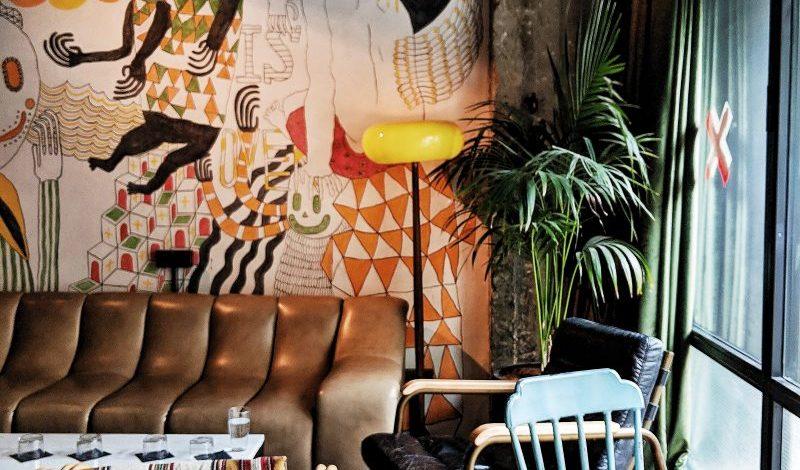 Bushwick brunch at fabric hotel Tel Aviv