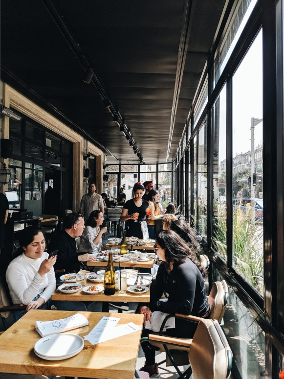 Tel Aviv Cafe popular brunch