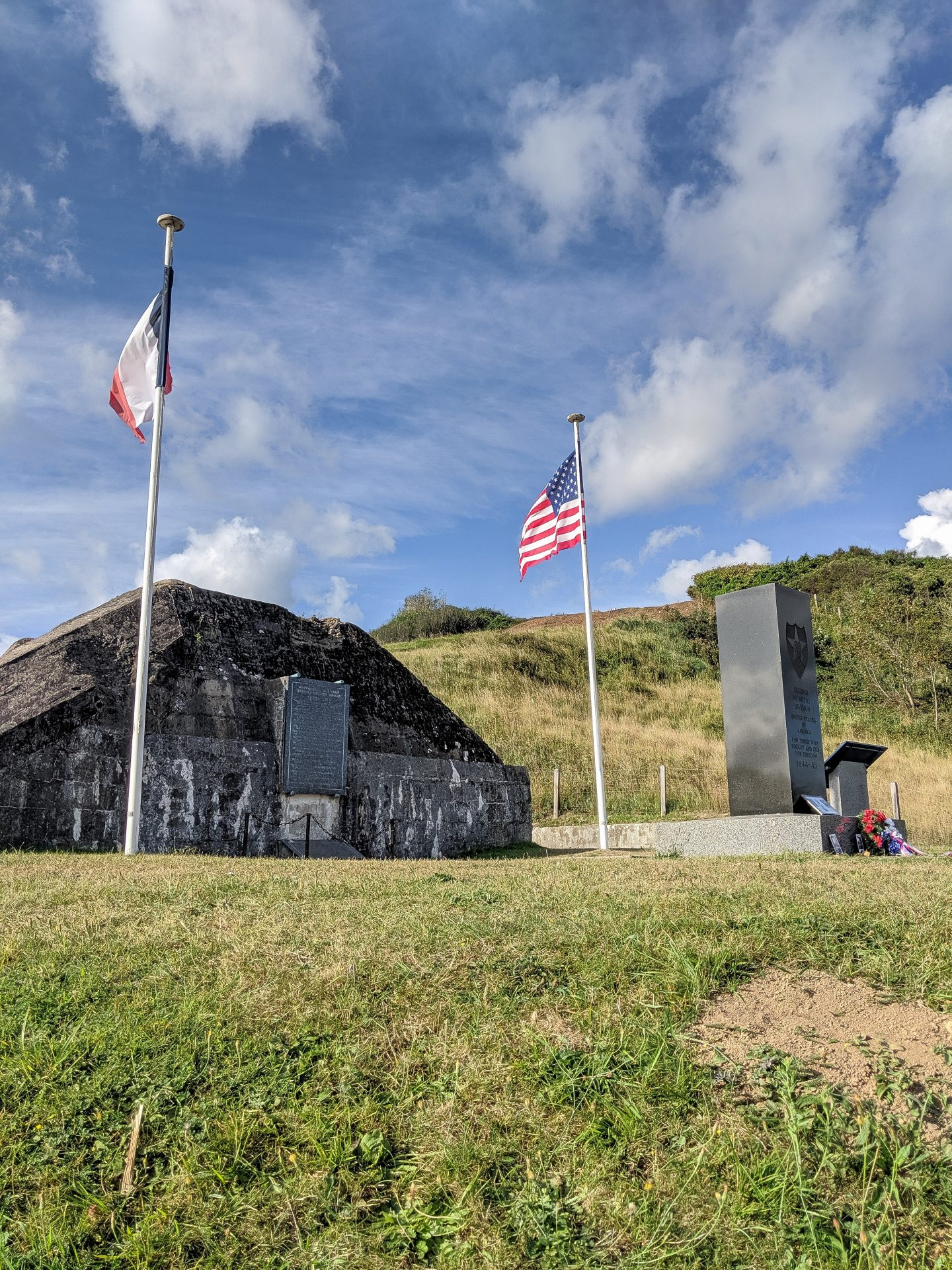 Omaha Beach monument