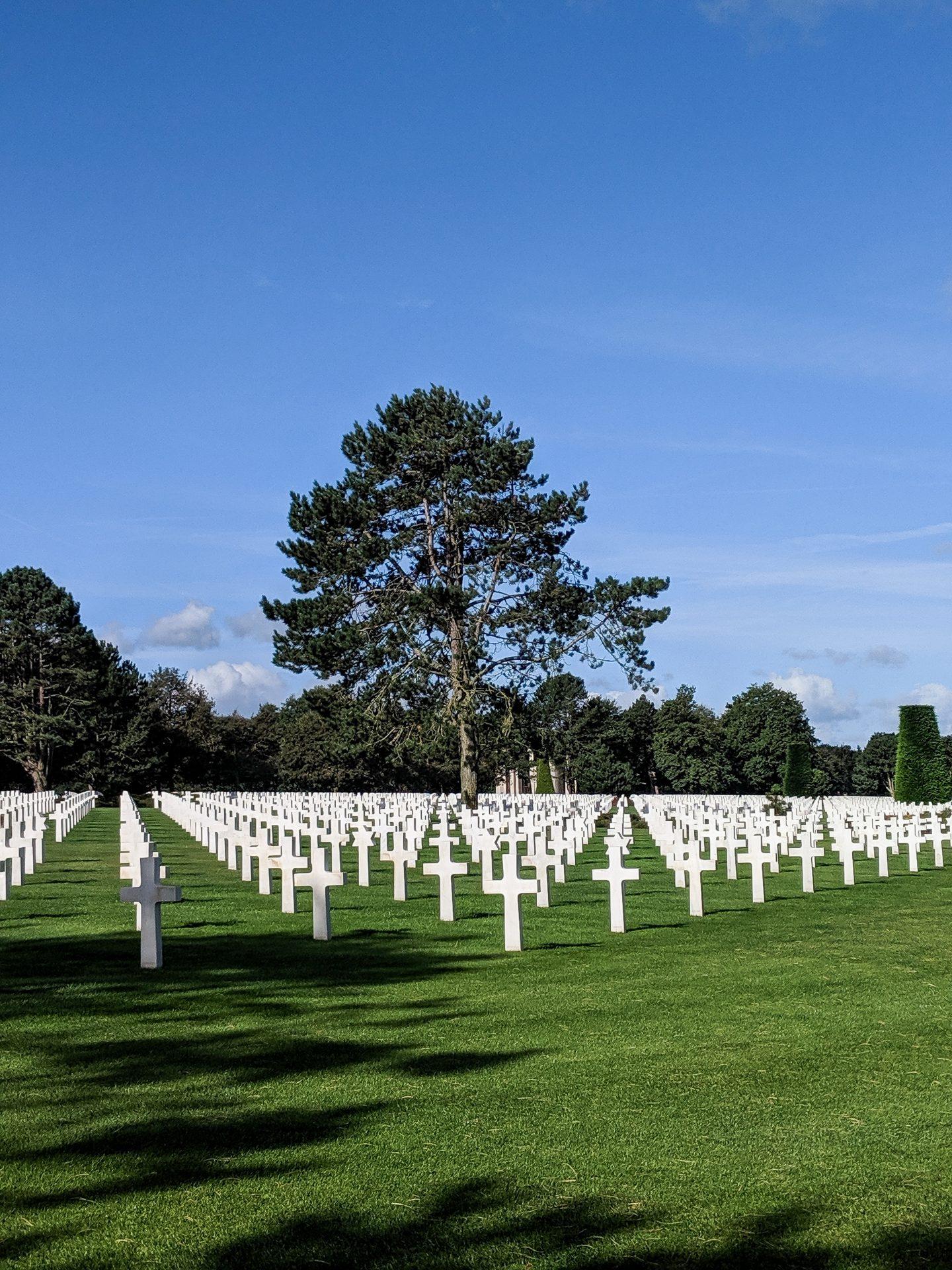 The American Cemetery - Omaha Beach