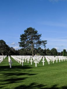 בית הקברות האמריקאי בנורמנדי