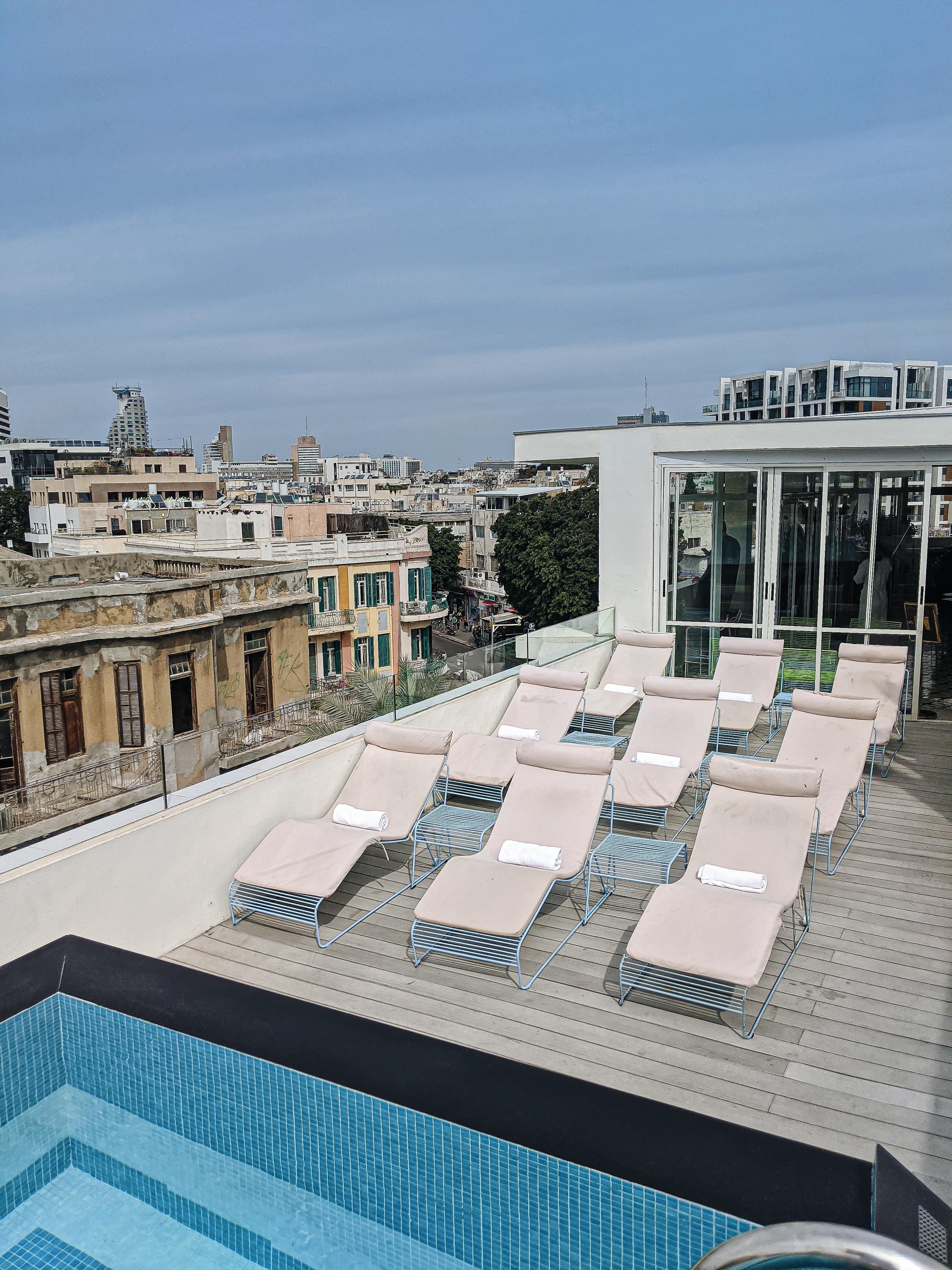 rooftop pool tel aviv