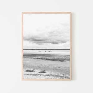 low tide wall print