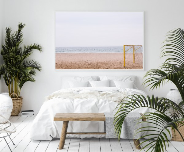 beach spain wall print