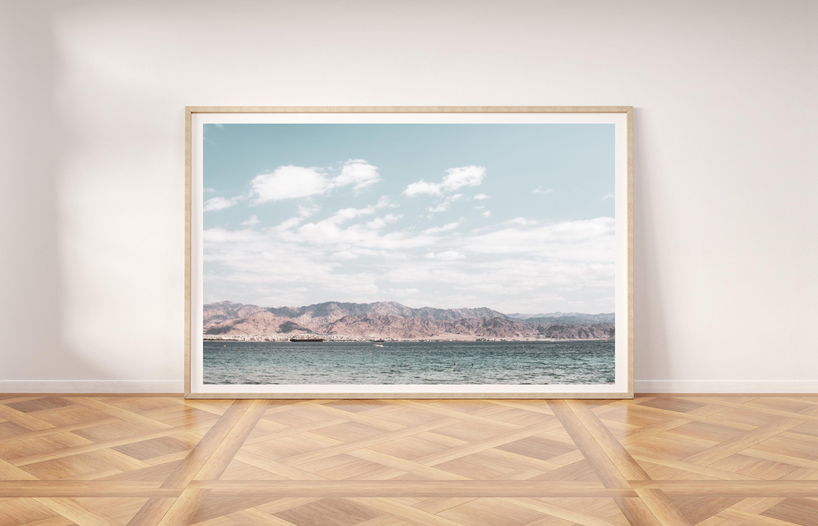 eilat mountains wall print