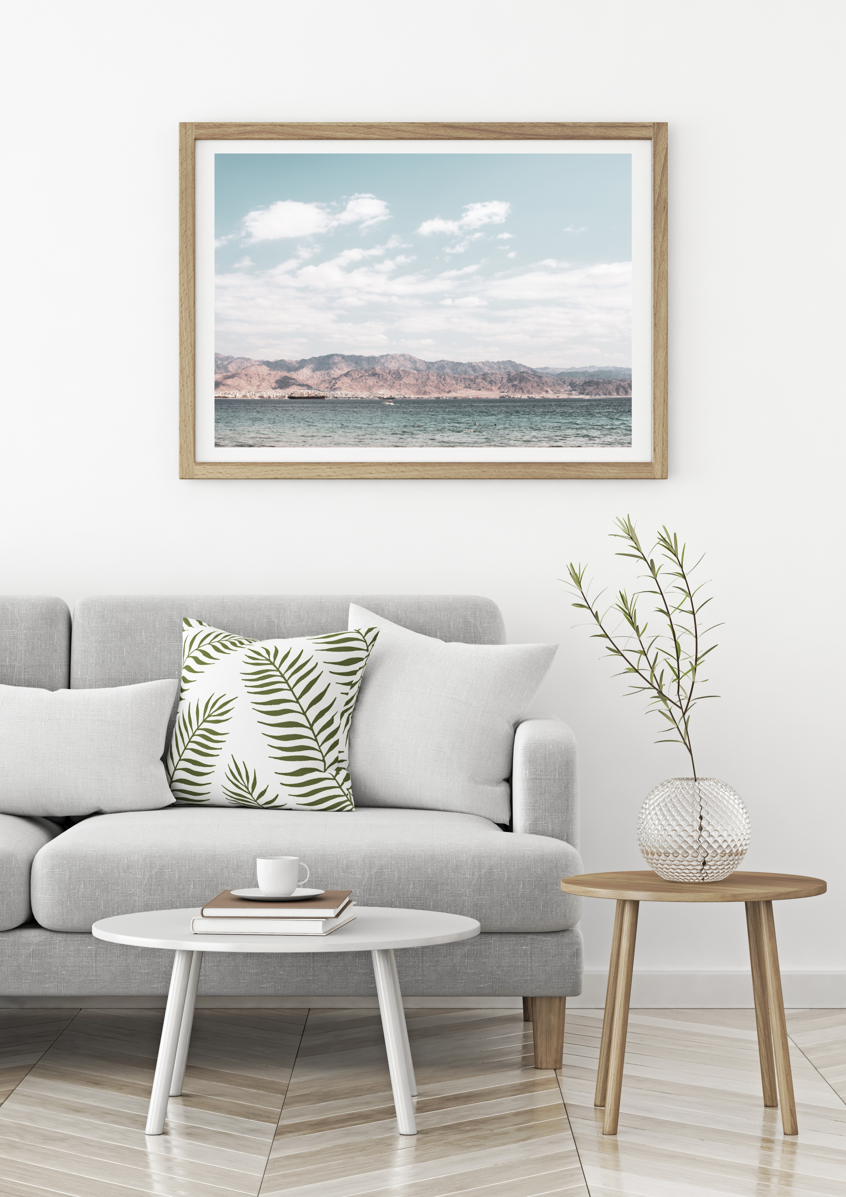 eilat mountains wall print