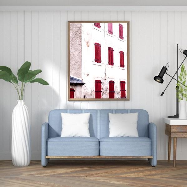 red windows spain print 5