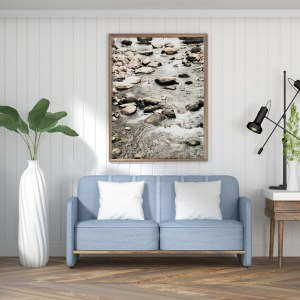 River in Andorra wall print