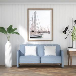 tel aviv sailing boats wall print