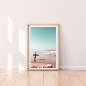 surfer tel aviv print