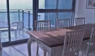 okeanosbamarina; herzliya vacation sea view dining table