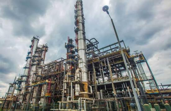 petrochemical plant energy