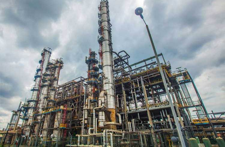 petrochemical plant energy