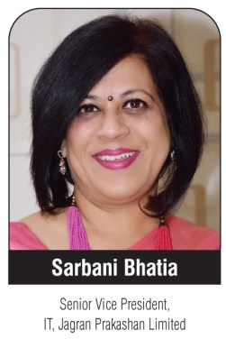 Interview with Jagran Prakashan Limited's Sarbani Bhatia