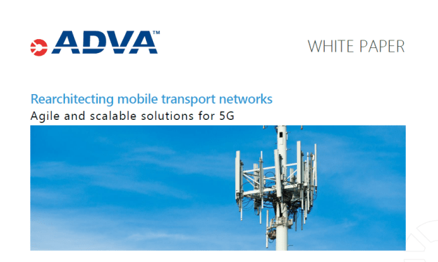 Rearchitecting mobile transport networks