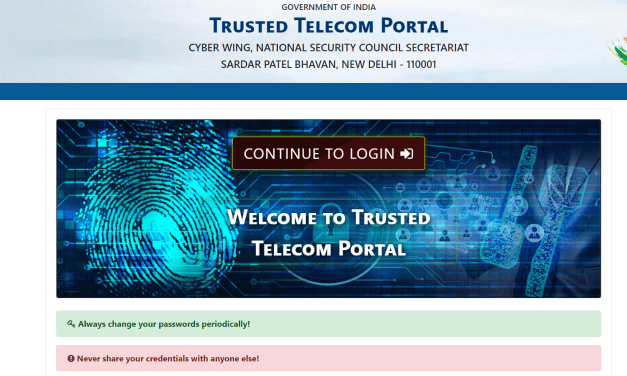 Government launches trusted telecom portal for implementation of National Security Directive on Telecom Sector