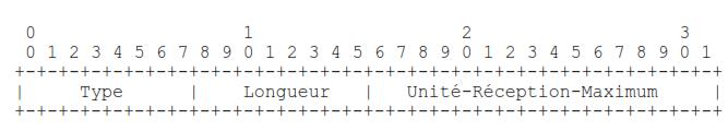 Unité-Réception-Maximale (URM)