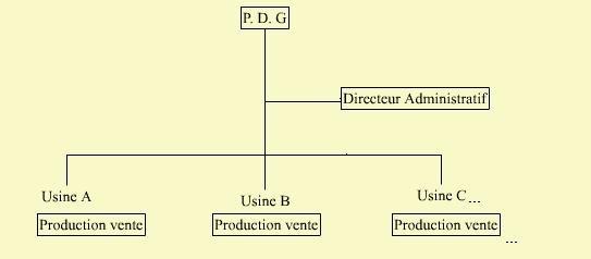 PDG Place et organisation de la fonction administrative