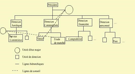 Le gestionnaire et L'Organisation  Les éléments de Base d'une Structure