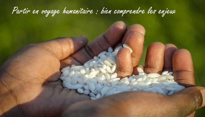 Partir en voyage humanitaire en Afrique